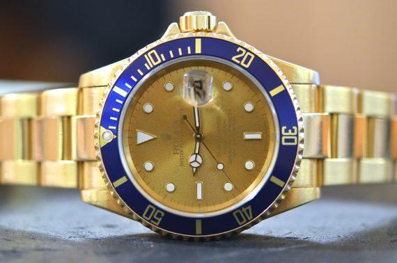 Rolex Submariner ref. 16618 blu2