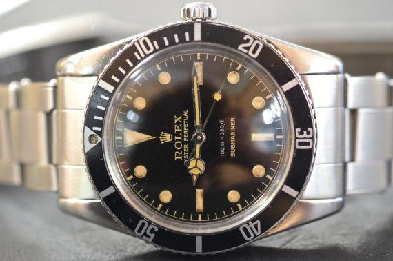 Rolex Submariner ref. 5508 Gilt in Acciaio