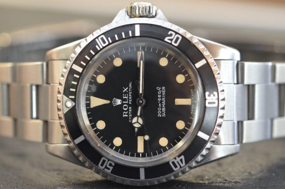 Rolex Submariner ref. 5513 Pallettoni Meter First in Acciaio