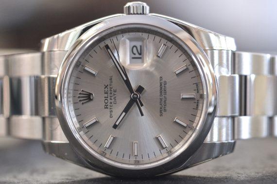 Rolex Date ref. 115200 in Acciaio Completo NUOVO