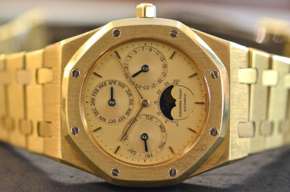 Audemars Piguet Royal Oak Calendario Perpetuo in oro Giallo