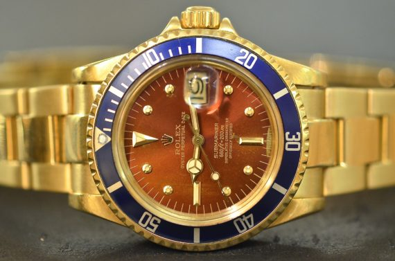 Rolex Submariner ref. 1680 in Oro Giallo Quadrante Caramello