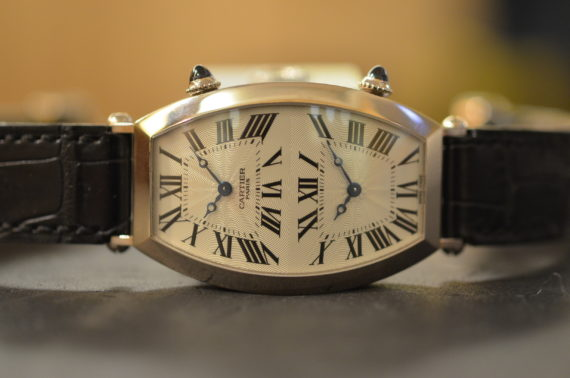 Cartier Tonneau Collection Prive' Doppio Fuso