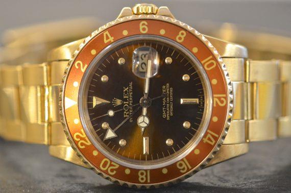 Rolex GMT Master ref. 16758 Brown in Oro Giallo 18k con Garanzia