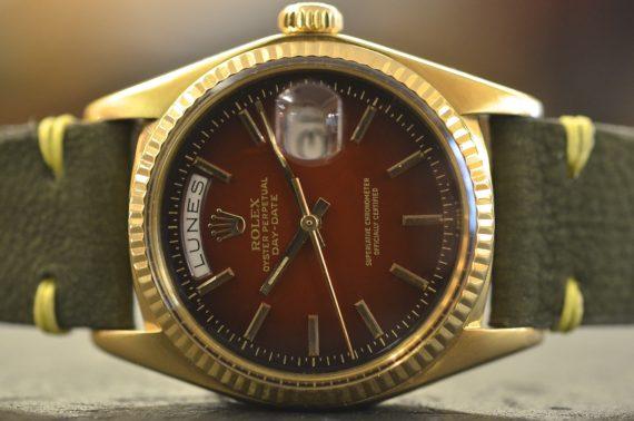 Rolex DayDate ref. 1803 Degradé in Oro Giallo 18k con Garanzia