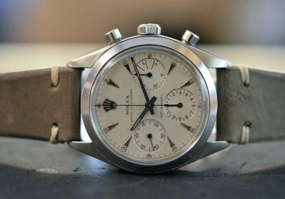 Rolex Crono Referenza 6238 Quadrante senza scale