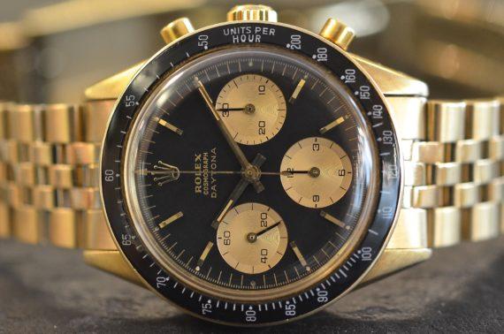 Rolex Daytona ref. 6241 Prima serie quadrante Everose