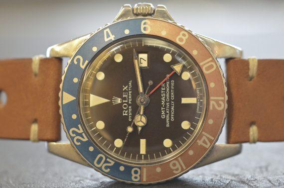 Rolex GMT Master ref. 1675 Quadrante Marrone in Acciaio