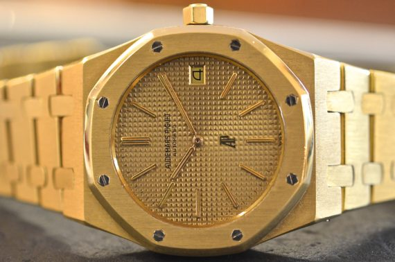 Audemars Piguet Royal Oak ref. 5402 Prima Serie in Oro Giallo 18k