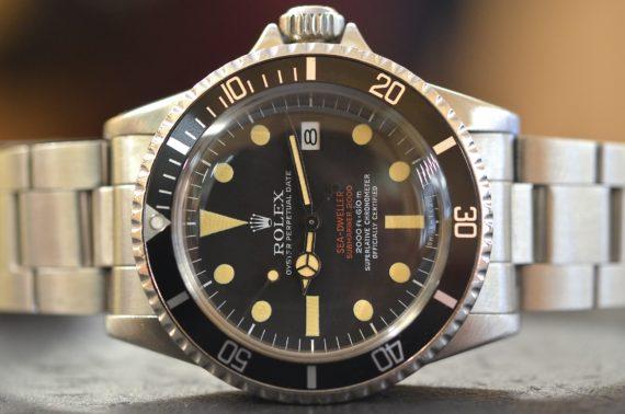 Rolex Sea-Dweller DRSD ref. 1665 Mark 3 Doppia Scritta Rossa in Acciaio con Garanzia