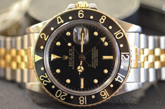 Rolex GMT Master ref. 1675 Acciaio e Oro Nipple Dial