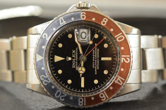 Rolex GMT Master ref. 1675 Gilt Secondi Continui in Acciaio