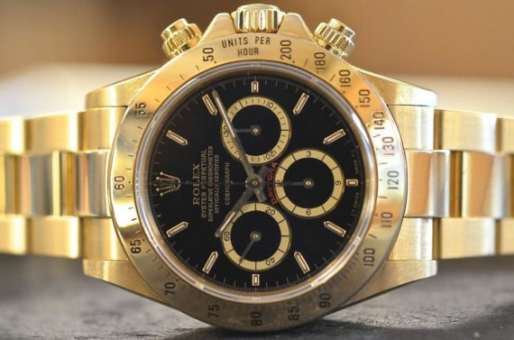 Rolex Daytona ref. 16528 R Floating in Oro Giallo 18k