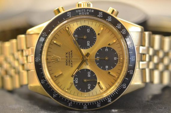 Rolex Daytona ref. 6241 Compax Brown in Oro Giallo 14k