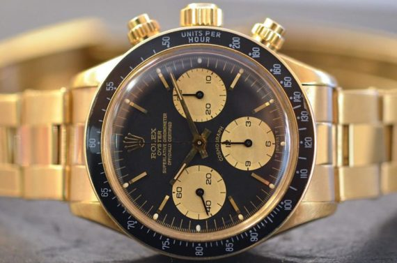 Rolex Daytona ref. 6263 in Oro Giallo 18k Full Set foto1