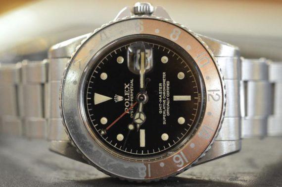 Rolex GMT Master ref. 1675 Gilt Secondi Continui in Acciaio Top Condition